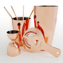 Olea™ 8 Piece Bar Set - Copper Plated