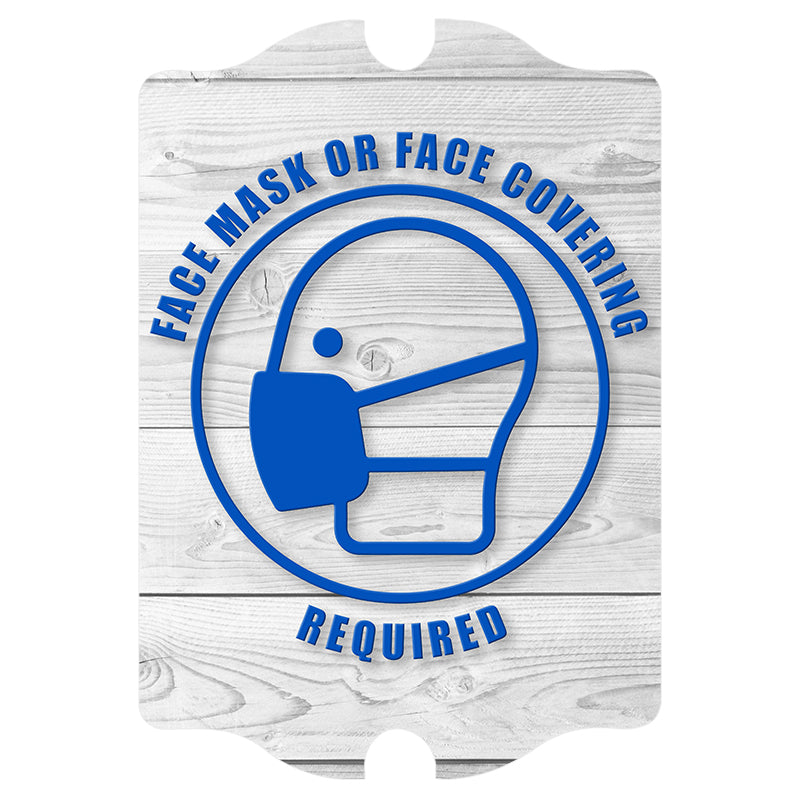 Kolorcoat™ Compliance Signs - Face Mask