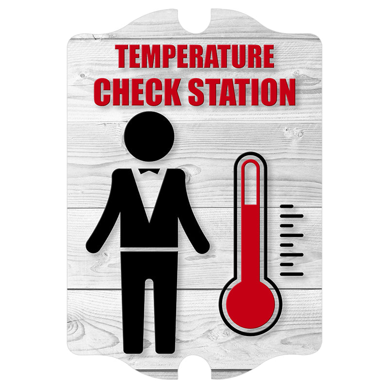 Kolorcoat™ Compliance Signs - Temperature Check Station