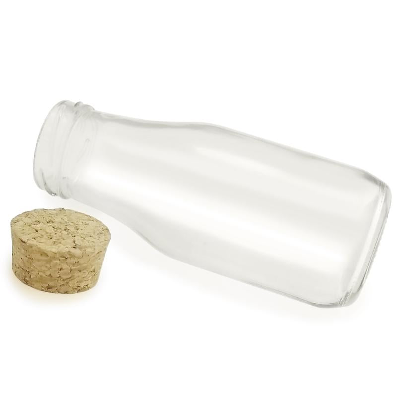 Craft Glass Bottle - with Cork - 12 oz.