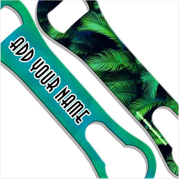 ADD YOUR NAME V-Rod® Bottle Opener – Palms