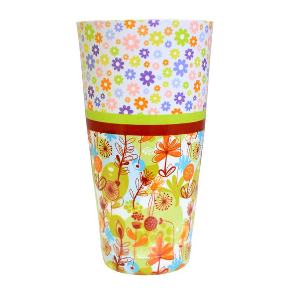 Cocktail Shaker Tin - Printed Designer Series - 28oz weighted - Cute Floral