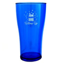 Blue Bottoms Up Plastic Cup - 2 Sizes Available