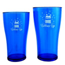 Bottoms Up Polycarbonate Cup - Blue - 2 Sizes Available