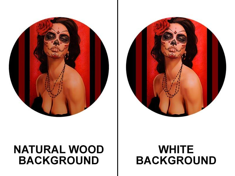 Isabella Muerta Round Wooden Table Top - Two Sizes Available