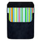 DekoPokit™ Leather Bottle Opener Pocket Protector w/ Designer Flap - Rainbow Stripes - LARGE