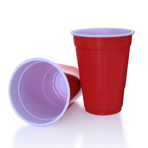 BarConic® 16 oz. Red Plastic Cups