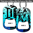 Dog Tag Bottle Opener - Zodiac Sign - Gemini