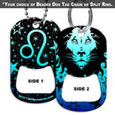 Dog Tag Bottle Opener - Zodiac Sign - Leo