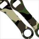 Dog Bone Bottle Opener - Camouflage
