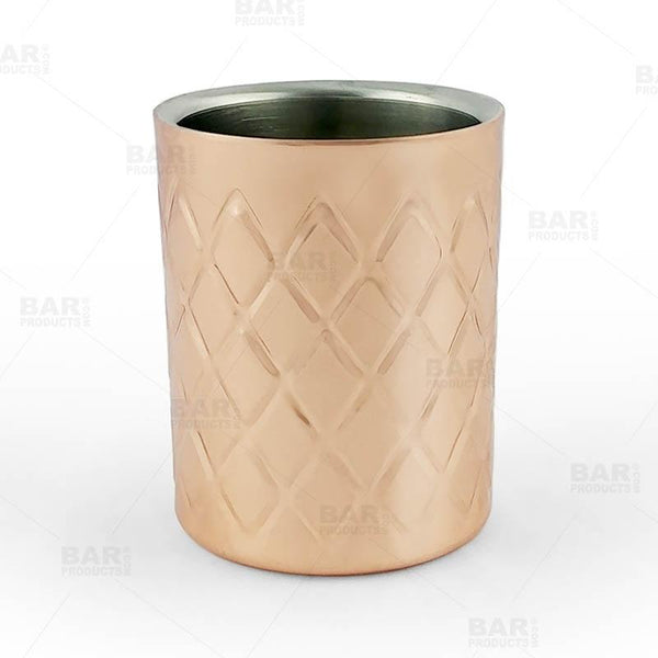 BarConic® Tumbler - Double Wall - Copper Plated - 10 ounce