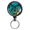 Mirrored Chrome Retractable Reel - Painted Dreamcatcher
