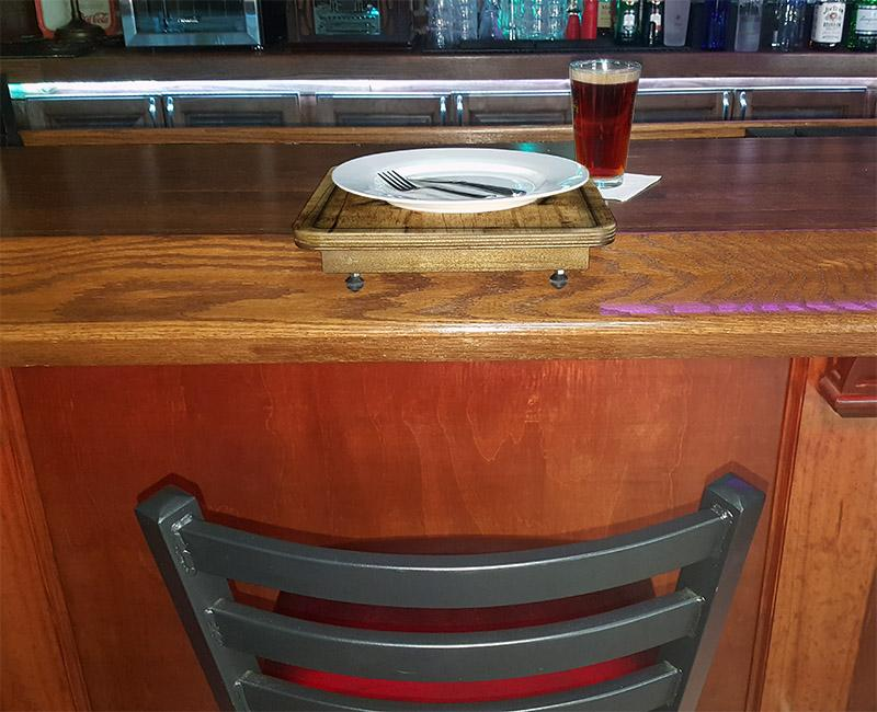 Drunk Bunk™ - Bar Top Dining Platform - CUSTOMIZABLE - Seafood Design