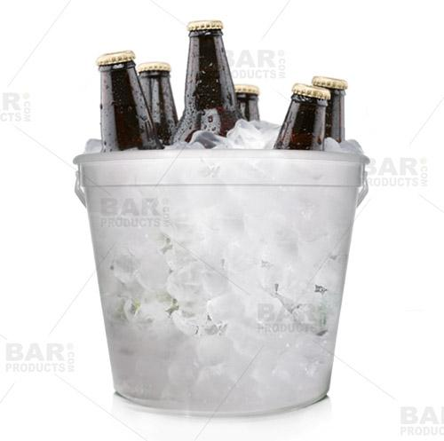 BarConic® 170oz Plastic Beer Bucket w/handle