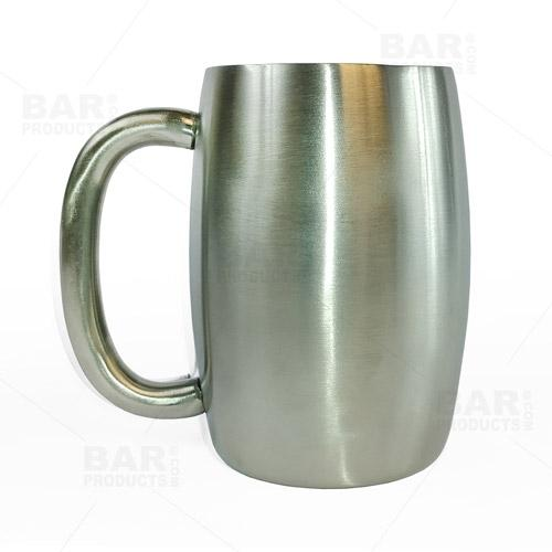 Double Wall Stainless Steel 15oz Mug - Set of 2