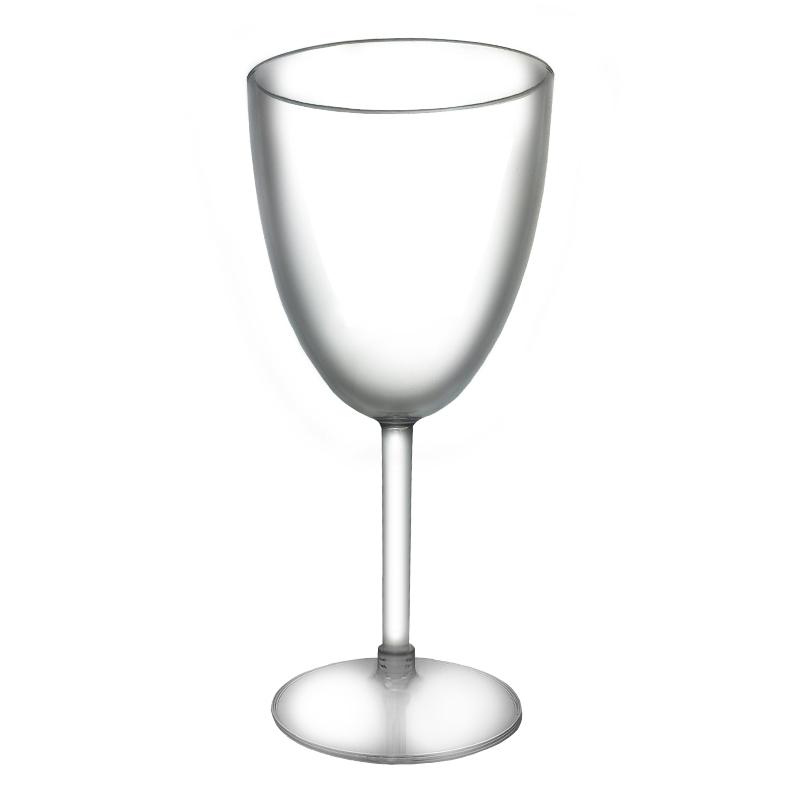 Plastic Wine Glass - 10 ounce (BPA FREE)