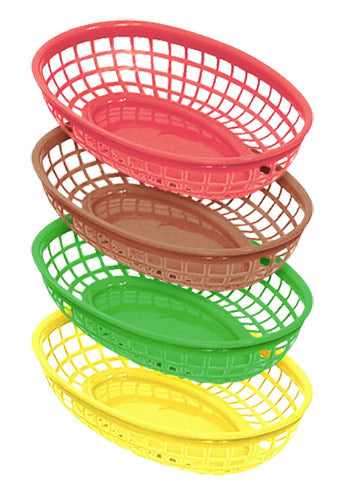 Fast Food Side Baskets - 12 Packs