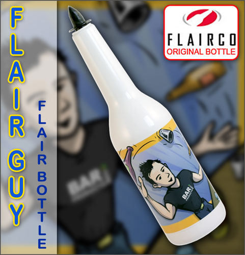 Flair Guy - Illustrated Flair Bottle