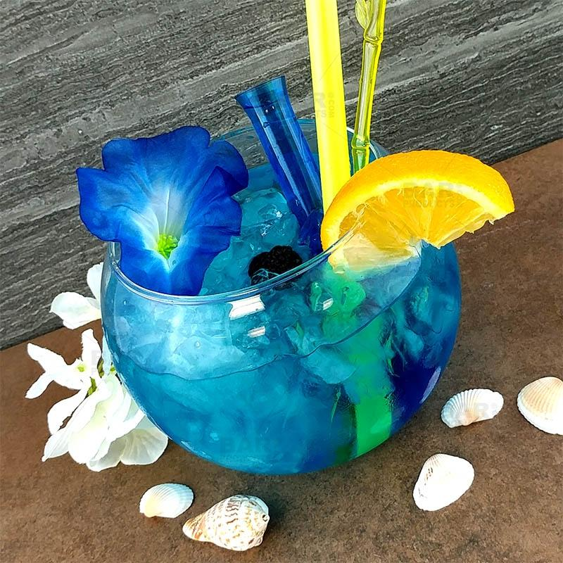 BarConic® 48 oz Tropical Fish Bowl Glass