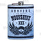 Stainless Steel Hip Flask - Moonshine Design - 8 ounce
