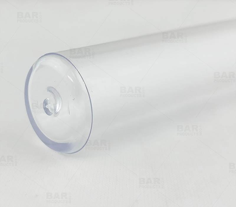 Test Tubes with Flat Bottom - Clear 25ml - 25 Pack