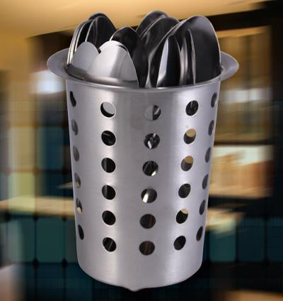 Flatware Cylinder - Stainless Steel