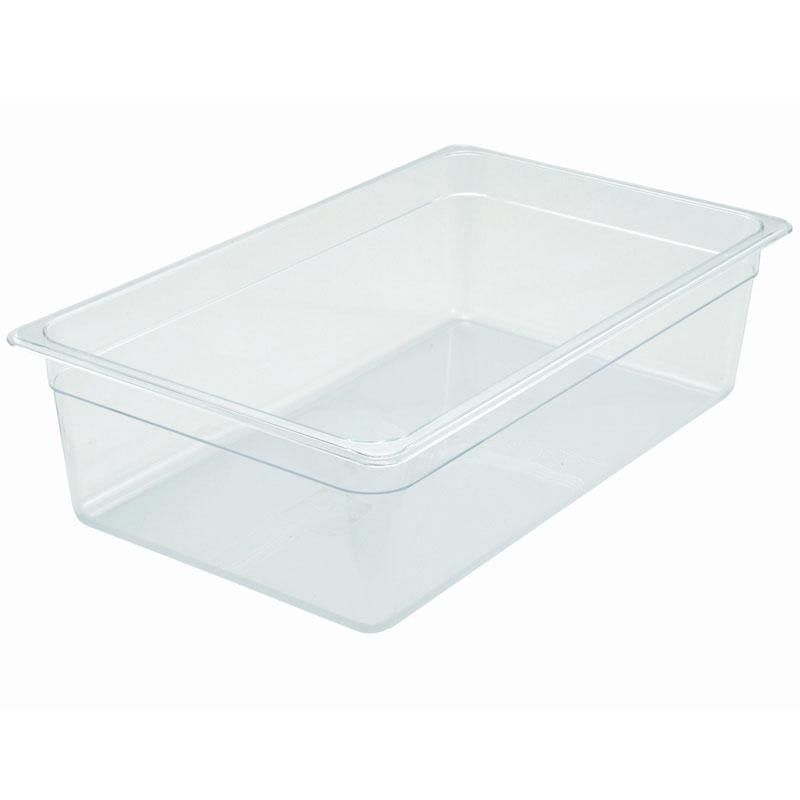 Clear Polycarbonate / Poly-Ware - 6 inch Deep 800 - food pan