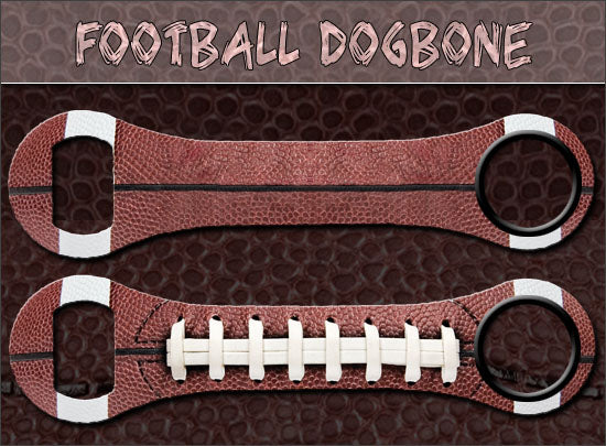 Dog Bone Bottle Opener - Football
