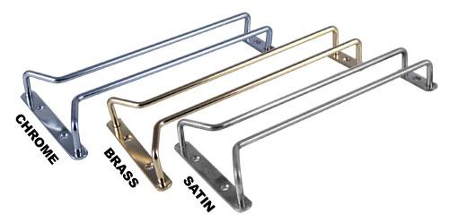 Glass Hanger Rack - Single Rail