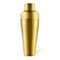 Olea™ Parisian Style 2 Piece Cocktail Shaker - Gold Plated - 20 ounce