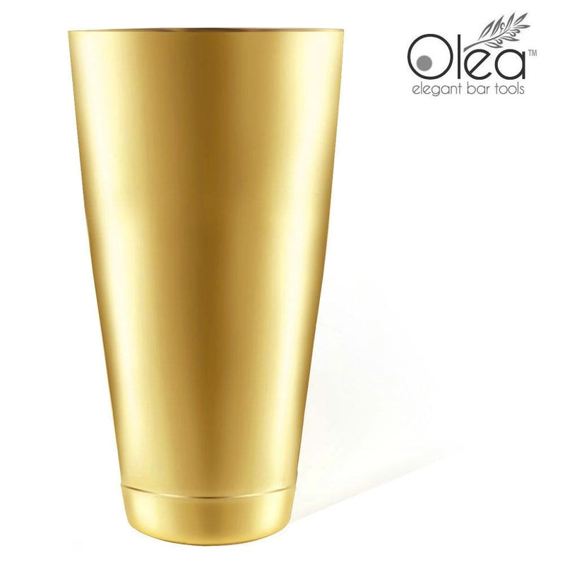 Olea™ Cocktail Shaker - Gold Plated - 28oz Weighted