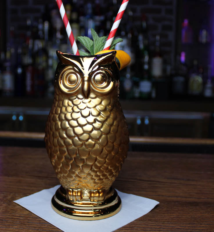 Barconic Tiki Great Horned Owl - 24 ounce