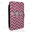 ADD YOUR NAME Guest Check Pad Holder - Glitter Zig Zag