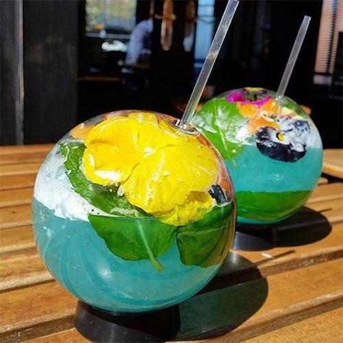 Spherical Halm Cocktail Glass