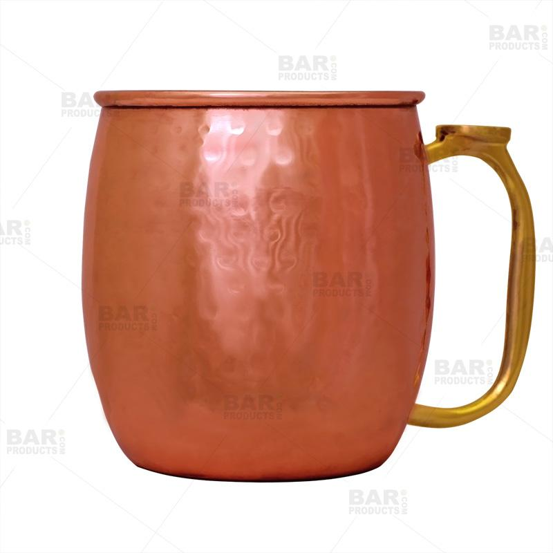 Hammered Copper Plated Moscow Mule Mug - 20oz