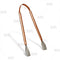 Hammered Copper Plated Tongs - 7""