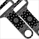 Black and White Bandana Kolorcoat™ HAMMERHEAD™ Bottle Opener