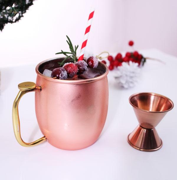 Holiday Moscow Mule Bar Set