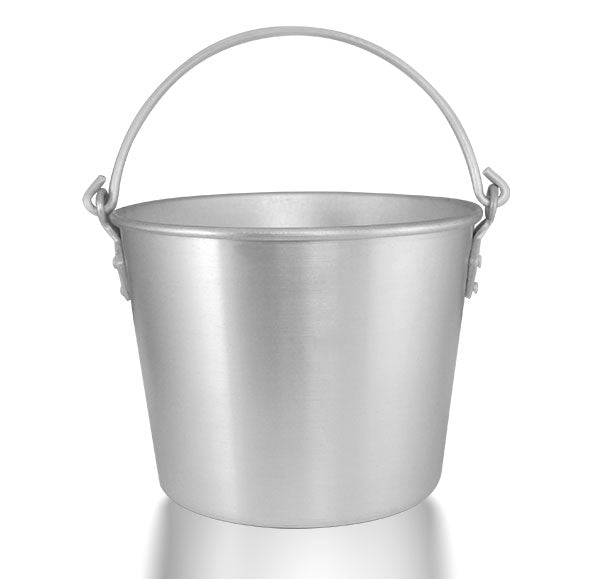Ice Bucket with Handles - Aluminum - 6.25 Quarts