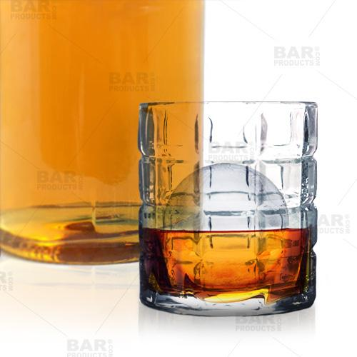 BarConic® 8 oz Ice Block Rocks Glass