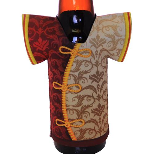 T-Shirt Style Bottle Cooler - Japanese Shirt