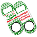 CUSTOMIZABLE Add Your Message Mini Bottle Opener - Jelly of the Month ClubCUSTOMIZABLE Add Your Message Mini Bottle Opener - Jelly of the Month Club