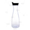 Juice Carafes - 54 ounce Jar - Black  Lid