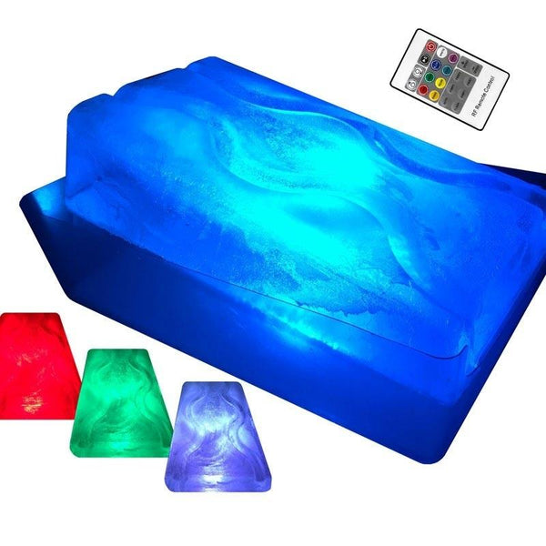 King Luge - Dual Track LED Ice Mold - LED PACK