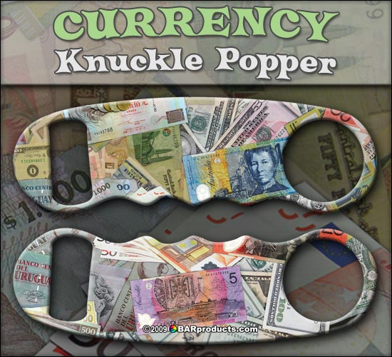Currency Knuckle Popper Opener