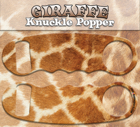 Giraffe Knuckle Popper Opener