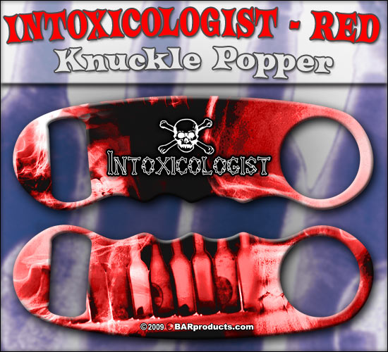 Knuckle Popper Openers - Red Intoxicologist