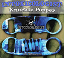 Knuckle Popper Openers - Blue Intoxicologist