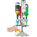 4 Bottle Bar Caddy / Liquor Dispenser with LED