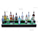 2 step LED bottle display shelves
